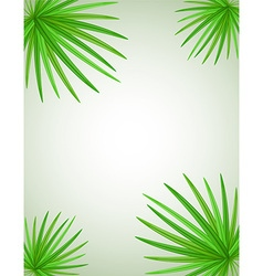Palm branch 02 vector