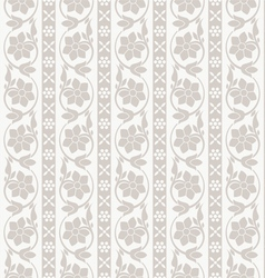 Decorative seamless wallpaper vector image