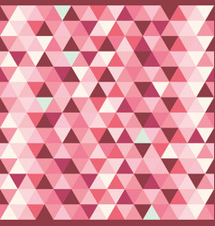 background abstract pattern triangles colorful vector image