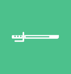 Icon military bayonet knife vector