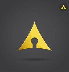 Keyhole icon vector image vector image