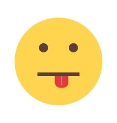 Silly face vector
