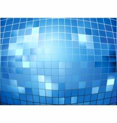mirror ball texture vector image