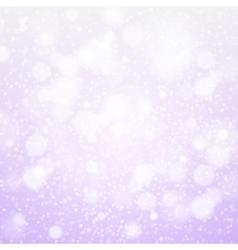Christmas snowflakes background purple light vector