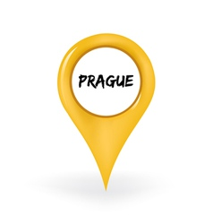 Location prague vector