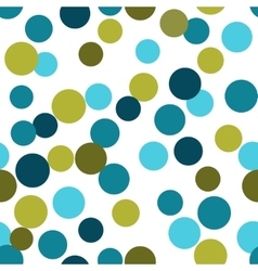 Seamless pattern from repeating circles vector