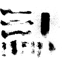 Grunge particles vector