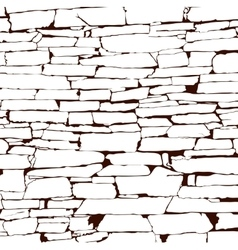 Design element ancient brick wall texture vector