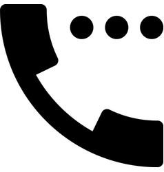 Call waiting vector