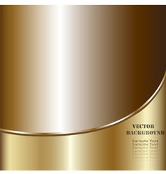 Creative technological background Golden Abstract vector image