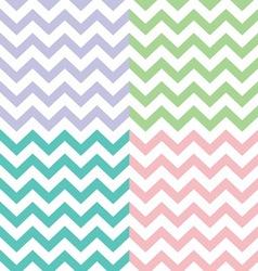 Popular zigzag chevron pattern vector