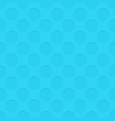 Seamless cutout circle pattern texture background vector