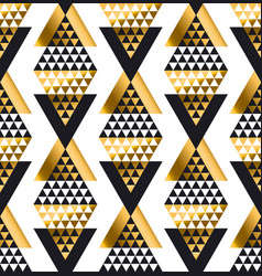 triangle shape geometric african tribal seamless vector image vector image