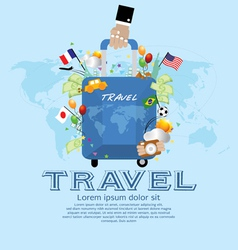 Travel concept eps10 vector