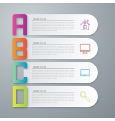 Stock business infographics vector
