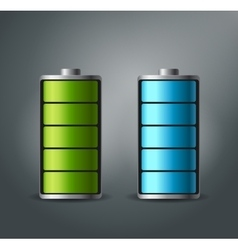 Fully charged battery smartphone - vector