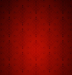 Red little background vector image
