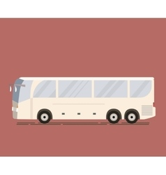 Travel Tourist Bus vector image