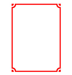 Modern pattern frame board vector