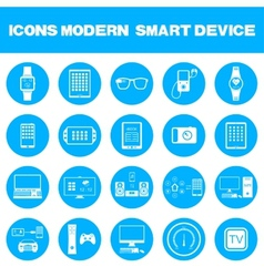 Modern smart devices vector