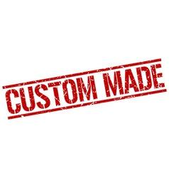 Custom made stamp vector