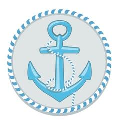 Anchor symbol - vector image vector image