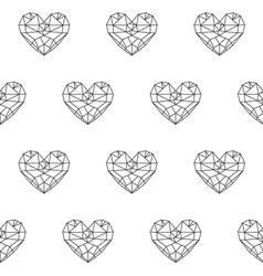 Heart patterno3 vector