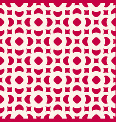 seamless pattern in oriental style red and beige vector image vector image
