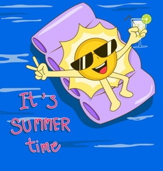 summer01 vector image