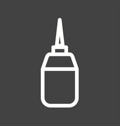 Sewing oil vector