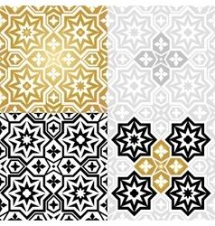 Oriental style elements vector