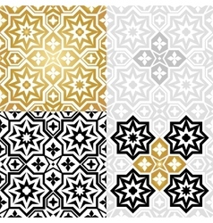 Oriental style elements vector image vector image