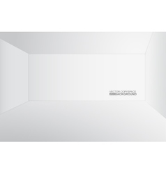 White copyspace similar to 3d room vector