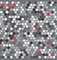 Repeat gexagon pattern vector