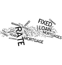 Lenders and most common type of loans text vector