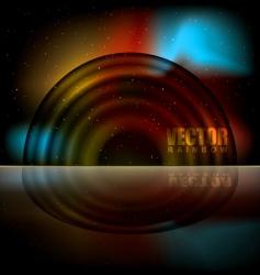 rainbow sparks vector image