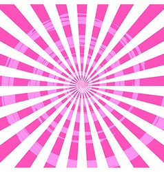 Abstract burst ray background pink vector