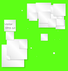 Abstract square text box composition vector