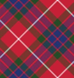 fraser tartan fabric texture seamless pattern vector image vector image