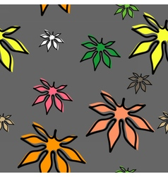 leaves3 vector image