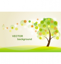 summer background with abstrac vector image vector image
