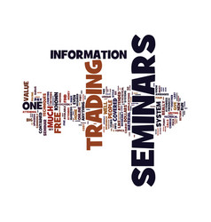 Beware of high cost seminars text background word vector