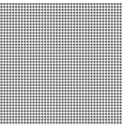 Black white mosaic background vector image