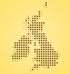 Britain Map vector image