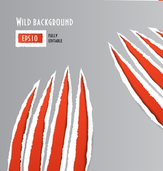 wild vector image