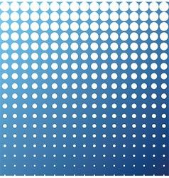Abstract background white blue halftone vector image vector image