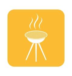 Barbecue grill icon vector