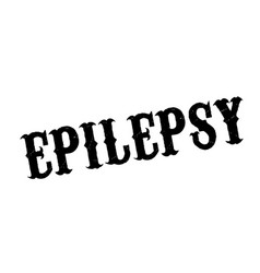Epilepsy rubber stamp vector