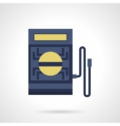 Voltmeter flat color icon vector