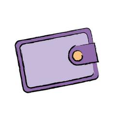 Wallet safe money bank concept vector